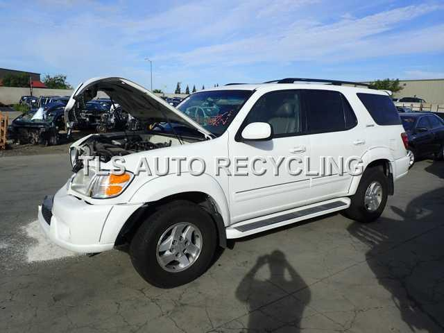 Parting Out 2002 Toyota Sequoia Stock 4104gy Tls Auto Recycling
