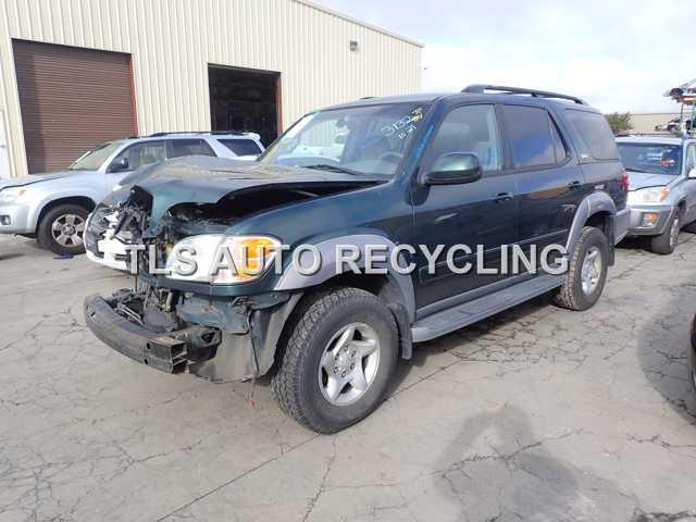 parting out 2002 toyota sequoia stock 5195bk tls auto recycling parting out 2002 toyota sequoia stock