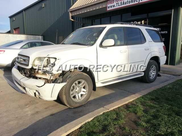 Parting Out 2003 Toyota Sequoia Stock 4009yl Tls Auto Recycling