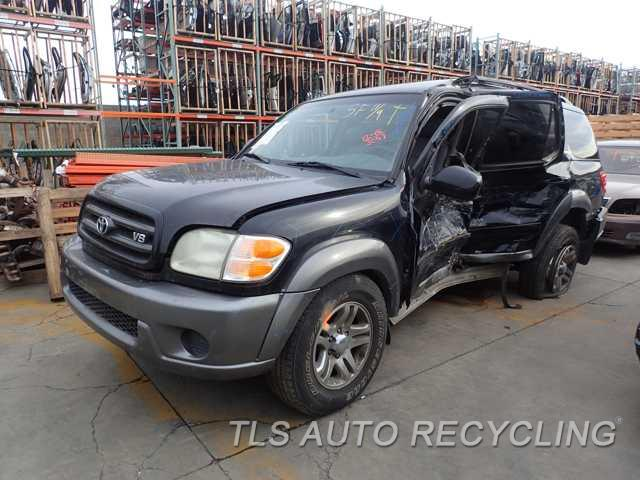 Parting Out 2003 Toyota Sequoia Stock 5264or Tls Auto Recycling