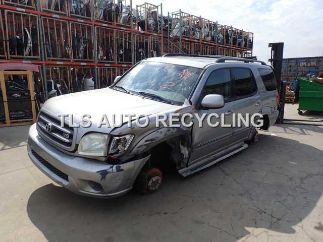 Parting Out 2004 Toyota Sequoia Stock 5117gy Tls Auto Recycling