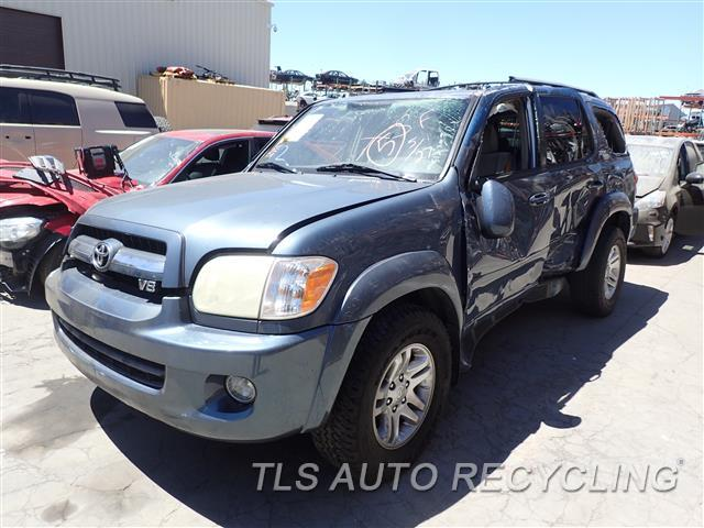 Parting Out 2006 Toyota Sequoia Stock 6225br Tls Auto Recycling