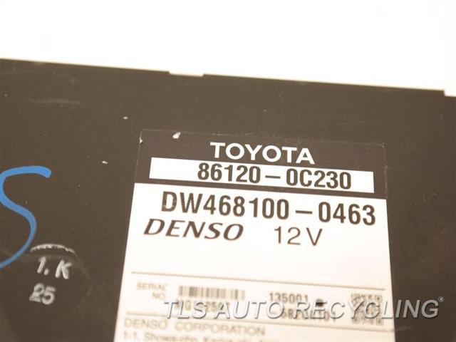 2008 Toyota Sequoia Navigation Gps Screen 86120-0C230 DASH MOUNTED, NAVIGATION, DISPLAY