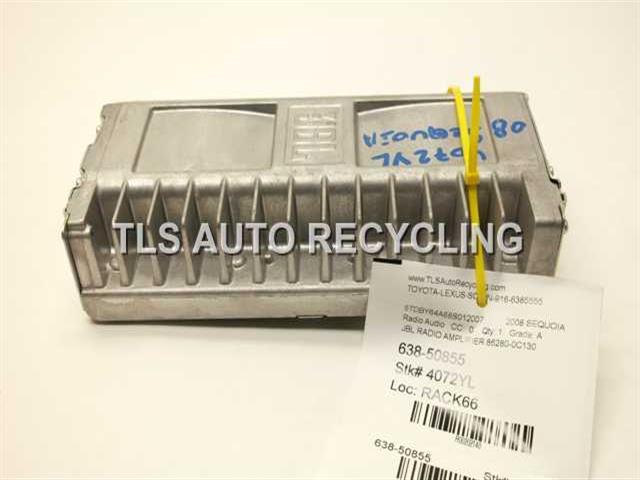 2008 Toyota Sequoia Radio Audio    Amp - 86280-0130