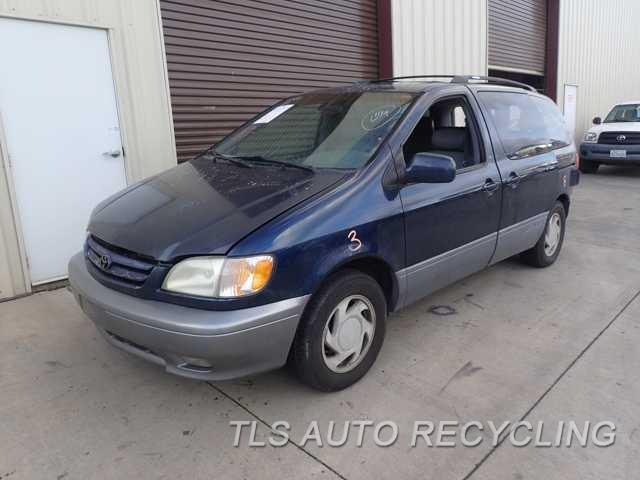Parting Out Toyota Sienna Stock PR TLS Auto Recycling - 2001 sienna