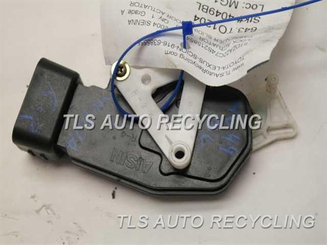 2004 Toyota Sienna Lock Actuator Small Motorpassenger Sliding Door Actuator Used