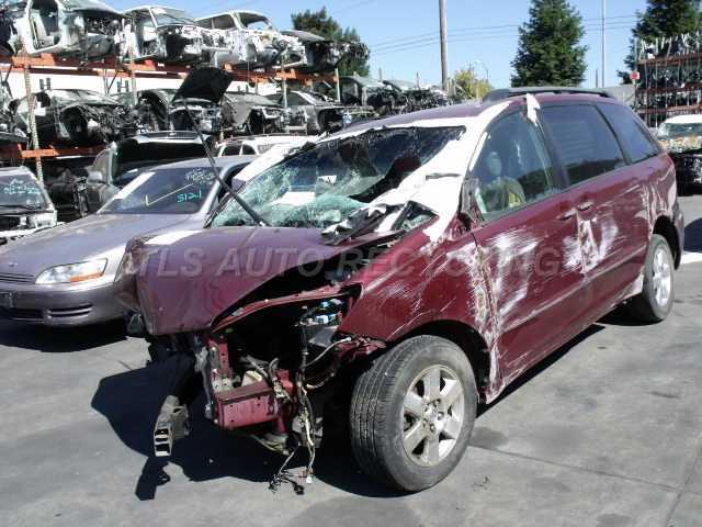 2007 toyota sienna parts manual