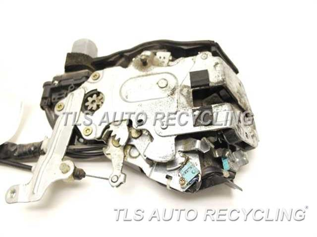 2006 Toyota Sienna Lock Actuator With Power Sliding