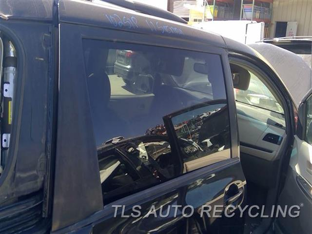 2011 Toyota Sienna Door Glass, Rear  RH,R., PRIVACY TINT