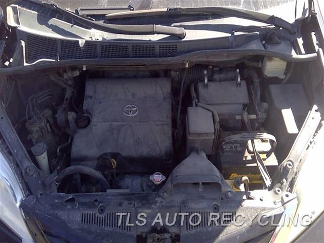 2011 Toyota Sienna Radiator Core Supp  CORE SUPPORT W/LH AND RH APRONS