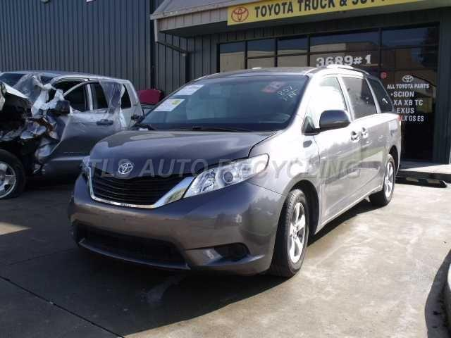 toyota_sienna_2012_car_for_parts_only_98936_01 parting out 2012 toyota sienna stock 3005gr tls auto recycling  at gsmx.co