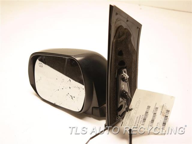 2016 Toyota Sienna Side View Mirror MIRROR BROKEN LH,BLK,PM,POWER, HEATED, BLIND SPOT