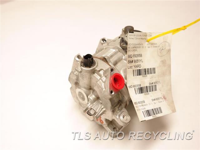2017 Toyota Sienna Ac Compressor  AC COMPRESSOR 88320-58020