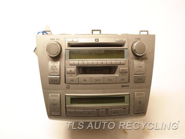 2005 toyota solara radio audio amp 86120 120 used. Black Bedroom Furniture Sets. Home Design Ideas