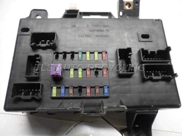 2006 Toyota Tacoma Fuse Box
