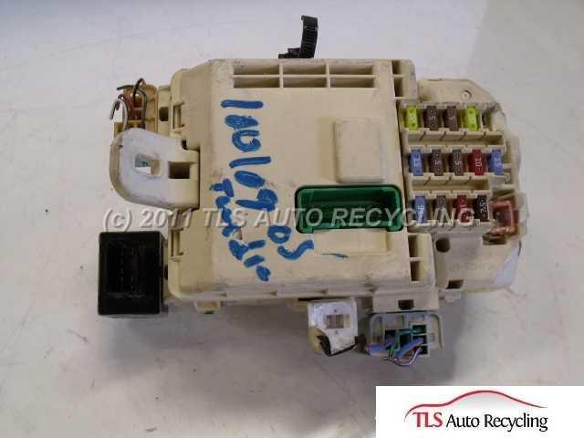 2005 Toyota Tundra Fuse Box