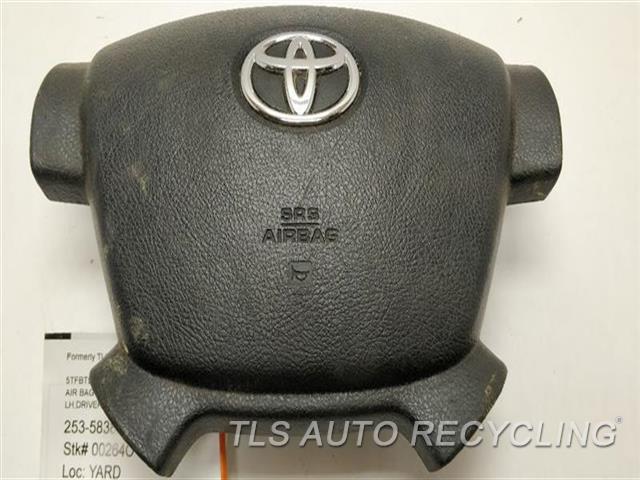 2007 Toyota Tundra Air Bag SCUFFS ON PLASTIC LH,DRIVER, WHEEL, W/O RADIO CONTROL