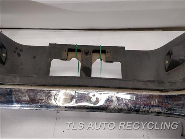 2007 Toyota Tundra Bumper Cover Rear   TWO SMALL DENTS IN THE MIDDLE SECTION TWO SMALL DENT PASSENGER SIDE CHROME BUMPER, W/O PARK ASSIST