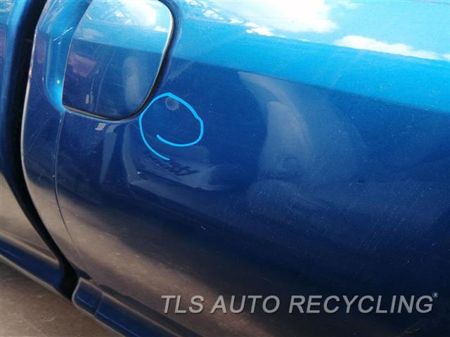 2007 Toyota Tundra Door Assembly, Rear Side SMALL DENT BY DOOR HANDLE 000,RH,BLU,PW,PL,EXTENDED CAB