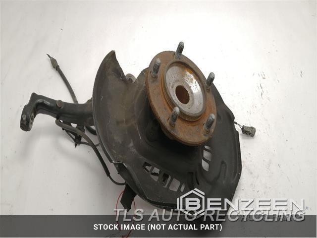 2007 Toyota Tundra Spindle Knuckle, Fr RUST ON HUB LH KNUCKLE W/HUB