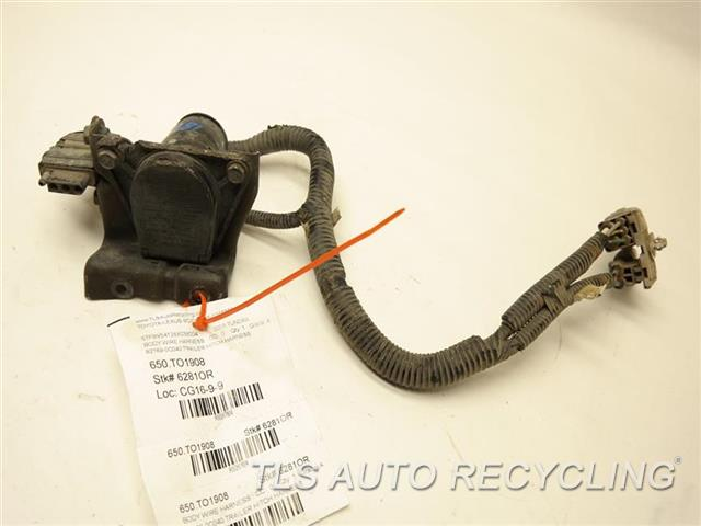2008 toyota tundra wiring harness cd 2008 toyota tundra backup camera wire diagram 2008 toyota tundra body wire harness - 82169-0c040 - used ... #15