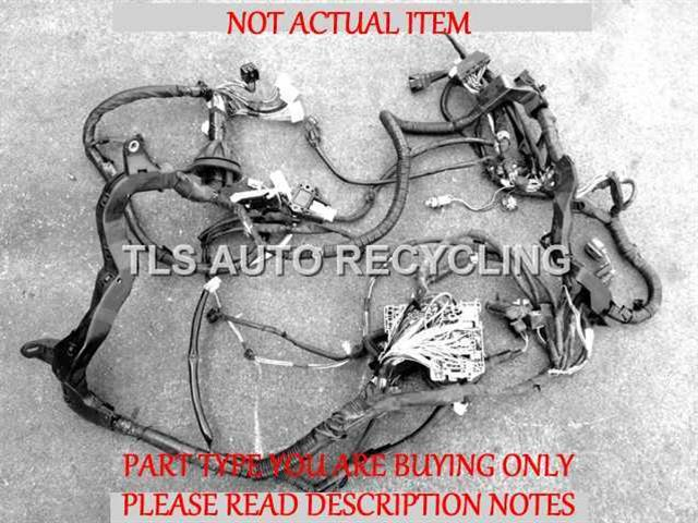 2008 toyota tundra engine wire harness 2 missing pigtails 82111-0c700  engine main room harness