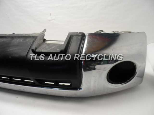 2010 toyota tundra bumper cover front chrome front bumper bar. Black Bedroom Furniture Sets. Home Design Ideas