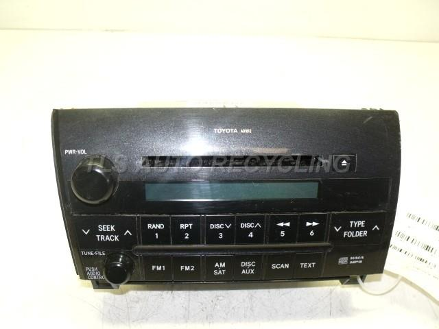 2011 toyota tundra radio audio amp 86120 0c270 used. Black Bedroom Furniture Sets. Home Design Ideas