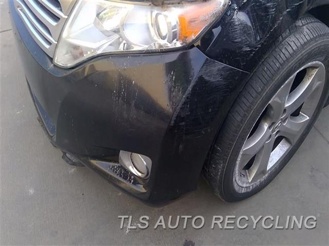 2009 Toyota Venza Bumper Cover Front SCUFFS RH AND LH SIDE 6S1,1S1,BLK,(FOG LAMPS)