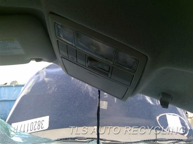 2009 Toyota Venza Console Front And Rear  TAN,ROOF, W/O PANORAMIC SUNROOF, W/