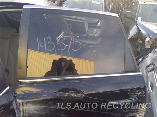 2009 Toyota Venza Door Glass, Rear  LH