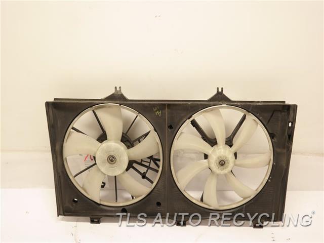 2009 Toyota Venza Rad Cond Fan Assy 16363-0A150 16363-0P030 16711-AD020  RADIATOR FAN ASSEMBLY