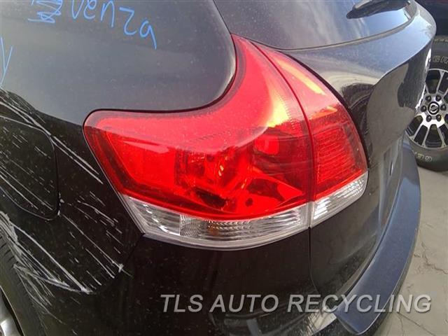 2009 Toyota Venza Tail Lamp  LH,QUARTER PANEL MOUNTED, L.
