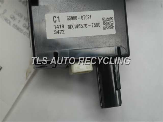 2009 Toyota Venza Temp Control Unit  AIR CONDITIONER CONTROL 55900-0T021