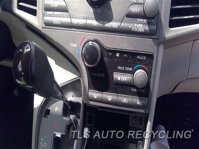 2009 Toyota Venza Temp Control Unit  TEMP CONTROL W/O REAR VIEW CAMERA