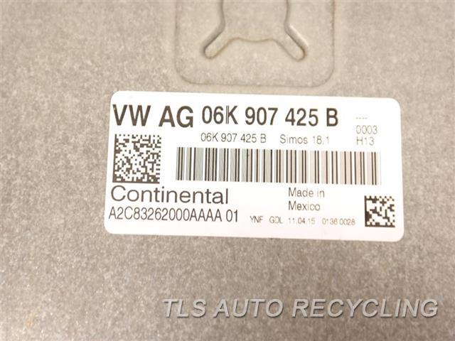 2015 Volkswagen Golf Eng/motor Cont Mod  06K907425B ENGINE CONTROL COMPUTER