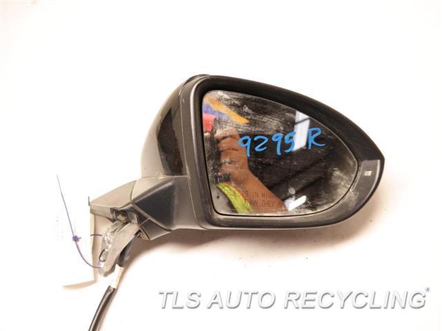 2015 Volkswagen Golf Side View Mirror SCRATCHES RH,BLK,PM,POWER, W/O LANE KEEP ASSI