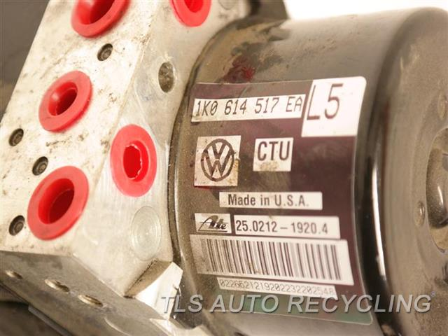 2013 Volkswagen Passat Abs Pump 1K0614517EA ASSEMBLY, W/O HILL HOLD 1K0907379BL