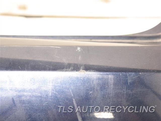 2013 Volkswagen Passat Bumper Cover Rear   HAS SCUFFS, SMALL DENTS ON THE MIDDLE AND PASSENGER SECTIONS BLUE REAR BUMPER COVER
