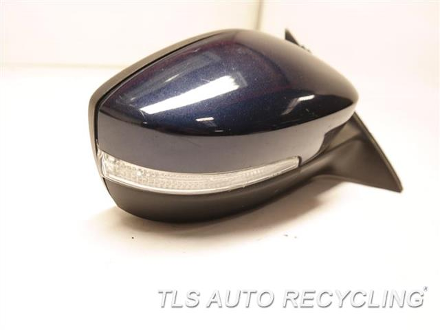 2013 Volkswagen Passat Side View Mirror CRACK BLINKER LENSE RH,BLU,PM,POWER, W/O MEMORY, NON HE
