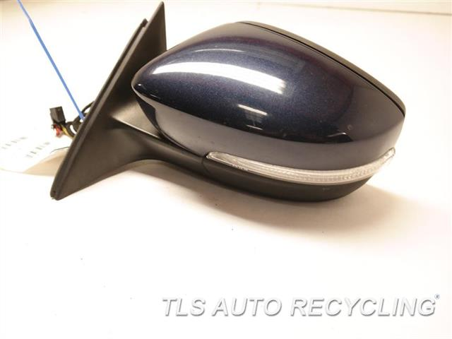 2013 Volkswagen Passat Side View Mirror  LH,BLU,PM,POWER, W/O MEMORY