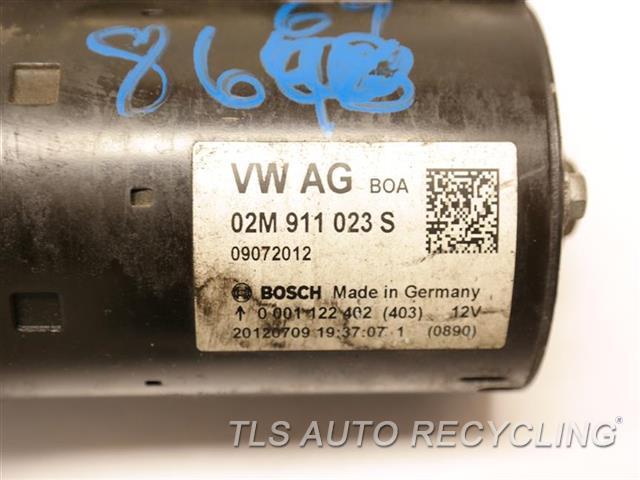 2013 Volkswagen Passat Starter Motor  2.5L, AT,STARTER