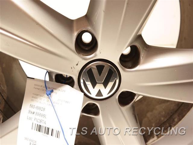 2013 Volkswagen Passat Wheel  000,17X7 (ALLOY), 5 SPOKE