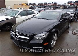 Parting Out Stock# 7043YL 2013 Mercedes Cls550
