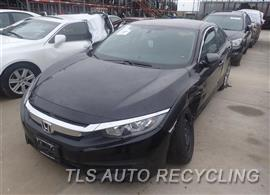 Parting Out Stock# 7146BL 2016 Honda Civic