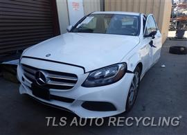 Parting Out Stock# 7300RD 2016 Mercedes C300