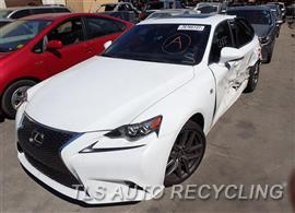 Parting Out Stock# 7315YL 2016 Lexus Is200t