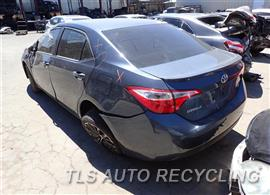 2016 Toyota Corolla Parts Stock# 7335BK