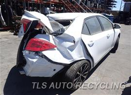 2018 Toyota Corolla Parts Stock# 8390BL