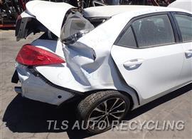 2018 Toyota Corolla Parts Stock# 8390BL